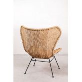 Isdra Synthetic Wicker Armchair, thumbnail image 4