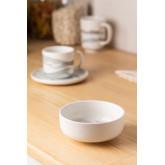 Pack of 4 Bowls in Porcelain Ø12 cm Fog, thumbnail image 1