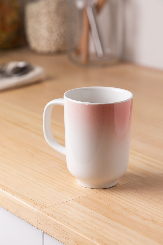 Pack of 4 Porcelain Mugs 260 ml Suni, gallery image 1