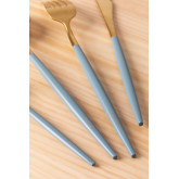 Metallic Cutlery Noya Colors 16 Pieces, thumbnail image 4