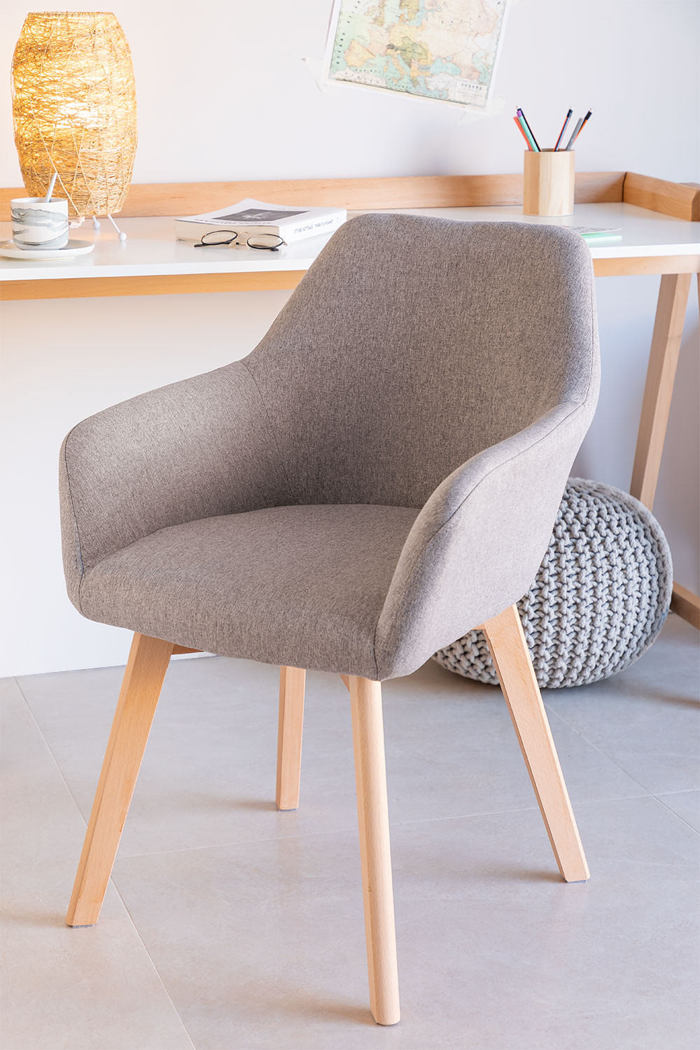 Dining Chair with Armrests Ervi , gallery image 1