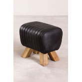 Low Stool in Finda Leather, thumbnail image 2