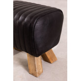 Low Stool in Finda Leather, thumbnail image 4