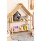 Zita Kids Shelf with 2 Wood Shelves, thumbnail image 1