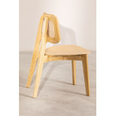 Defne Wood Dining Chair, thumbnail image 3