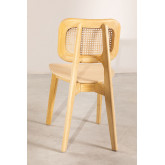 Defne Wood Dining Chair, thumbnail image 4