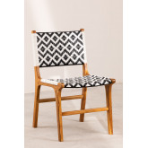 Garden Chair in Teak Wood Vana, thumbnail image 2