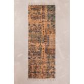 Cotton Rug (200x75 cm) Llac, thumbnail image 1
