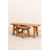 Recycled Wooden Bench Rieve, thumbnail image 6
