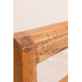 Recycled Wood Bench with Armrests Parans, thumbnail image 5