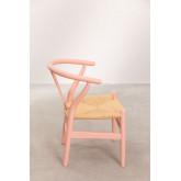 Mini Uish Kids Wooden Chair , thumbnail image 3