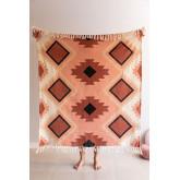 Kelsy Cotton Plaid Blanket, thumbnail image 1