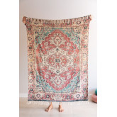 Plaid Blanket in Cotton Moraira, thumbnail image 1