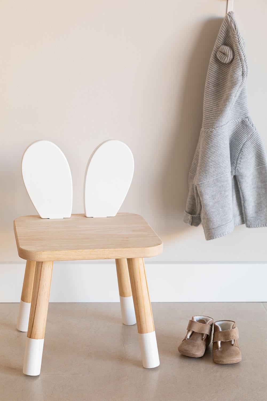Buny Kids Wooden Chair, gallery image 1