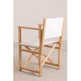 Foldable  Director Chair Pitt, thumbnail image 2