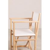 Foldable  Director Chair Pitt, thumbnail image 5