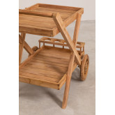Garden  Trolley in Teak Wood Pira, thumbnail image 4