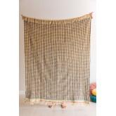 Plaid Cotton Blanket Felisa, thumbnail image 1