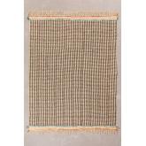 Plaid Cotton Blanket Felisa, thumbnail image 2