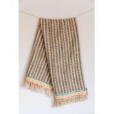 Plaid Cotton Blanket Felisa, thumbnail image 4