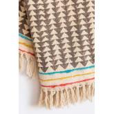 Plaid Cotton Blanket Felisa, thumbnail image 3