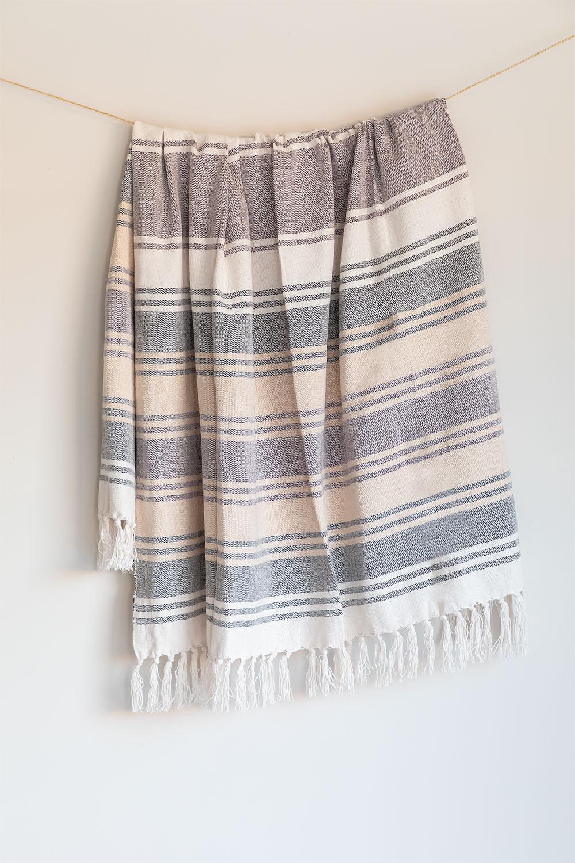 Plaid Cotton Blanket Kasku, gallery image 1