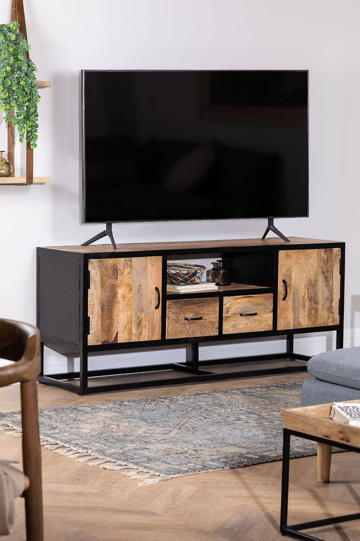 Bavi Wood TV Cabinet, gallery image 1