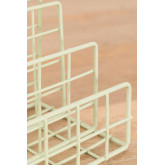Metal Magazine Rack with Compartments Bok, thumbnail image 4