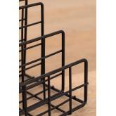 Metal Magazine Rack with Compartments Bok, thumbnail image 5