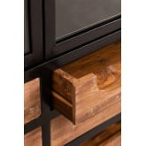 Emberg Wooden Display Cabinet with Drawers, thumbnail image 4
