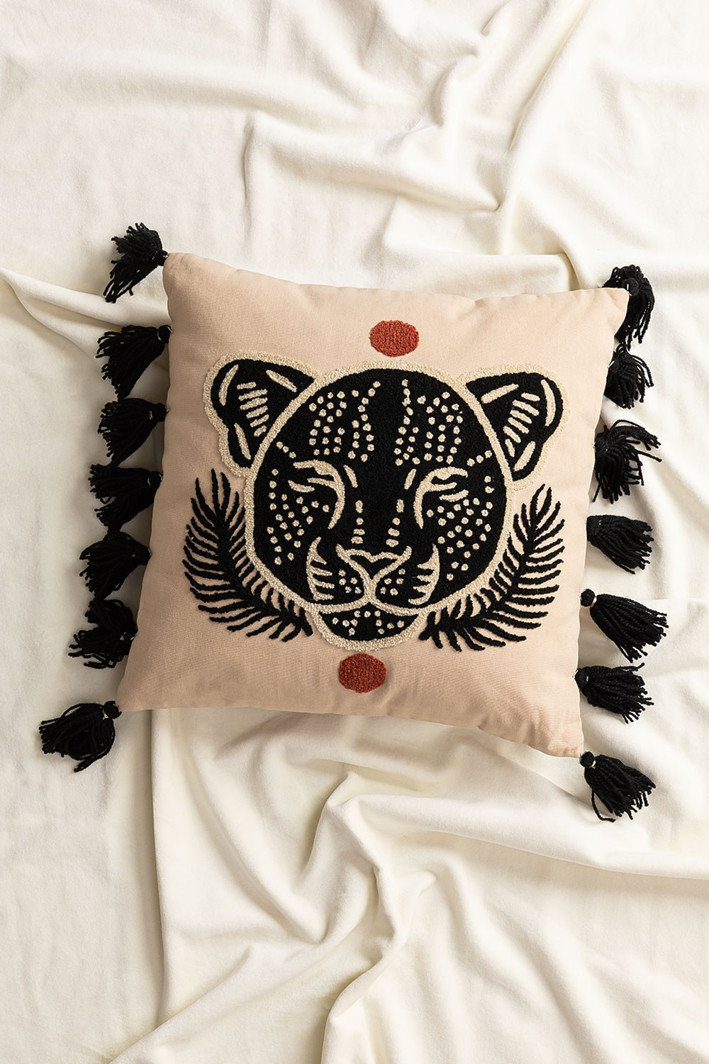 Square cotton cushion (40x40 cm) Rers, gallery image 1