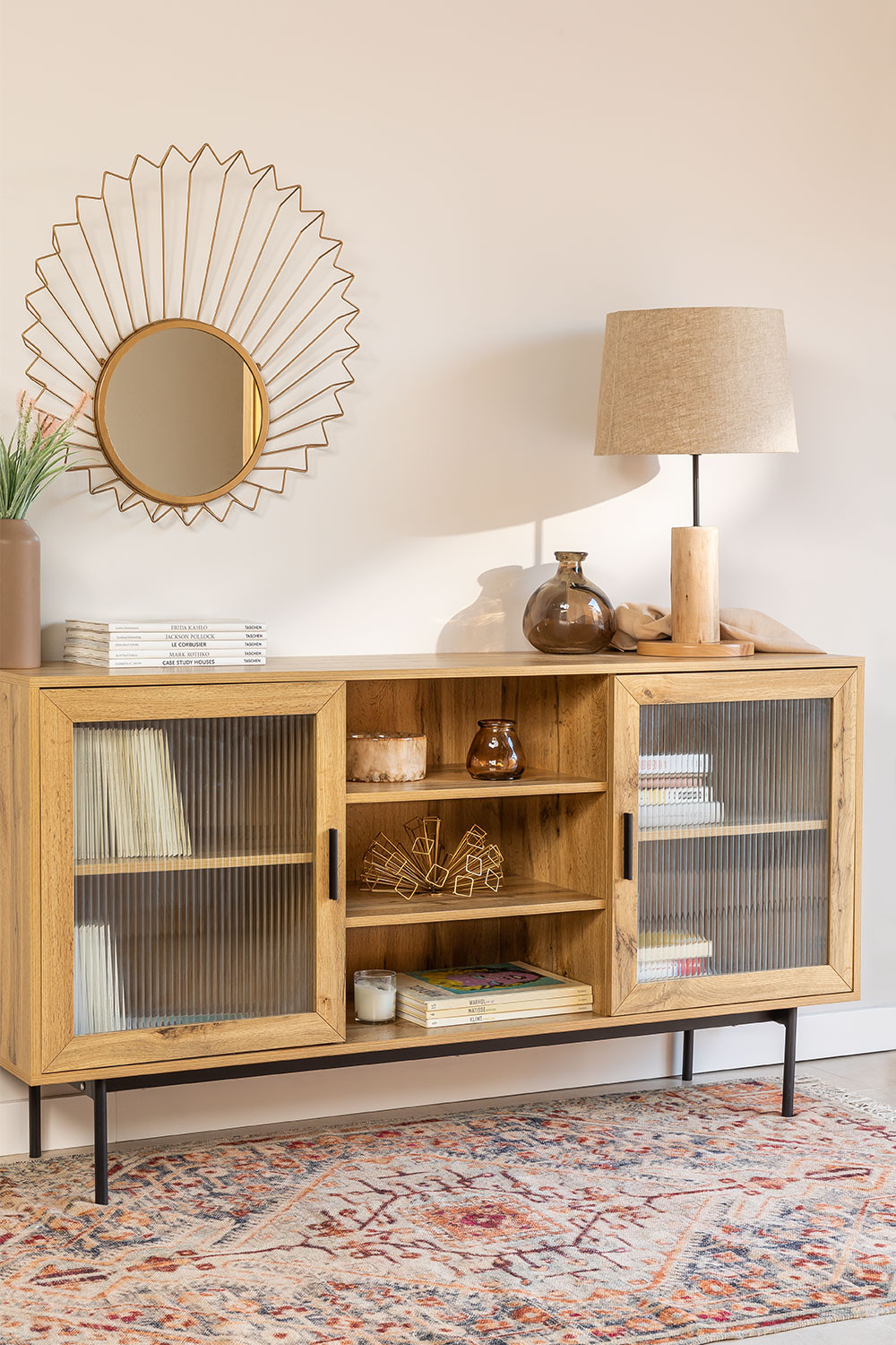 Sideboard in MDF and Ipek Glass, gallery image 1
