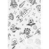 Washable Tablecloth with 12 Fanni Kids Coloring Markers, thumbnail image 4