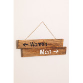 Gend Recycled Wood Sign, thumbnail image 3