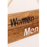 Gend Recycled Wood Sign, thumbnail image 4