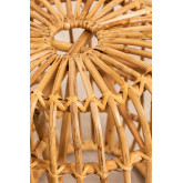 Low Decorative Rattan Stool Zierd, thumbnail image 3