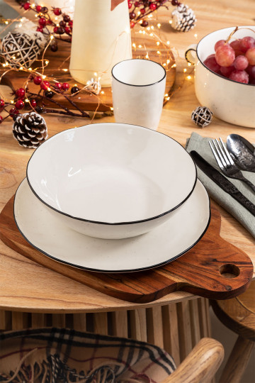 Tellah Tableware Set for 4 Diners