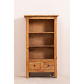 Set of 2 Bookcases in Recycled Wood Jara, thumbnail image 4