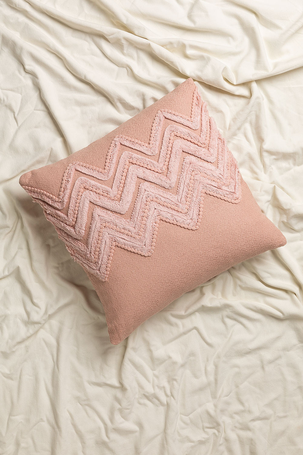 Cushion with Cotton Embroidery (45x45 cm) Mori, gallery image 1