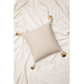 Cotton Embroidered Cushion (45x45 cm) Baxtter, thumbnail image 2