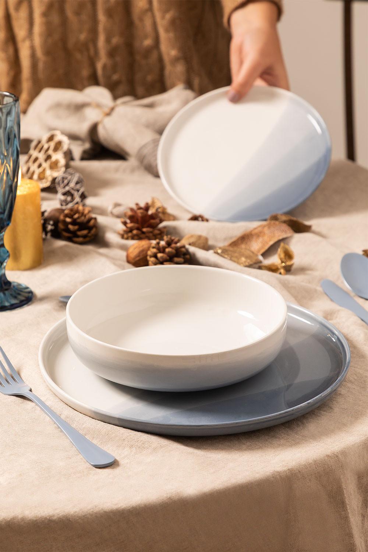 Porcelain Tableware 12 pieces Mar, gallery image 1