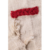 Plaid Blanket in Nanki Cotton, thumbnail image 4