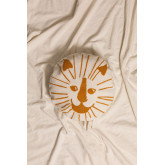 Round Cotton Cushion (Ø40.5 cm) Aslan Kids, thumbnail image 1