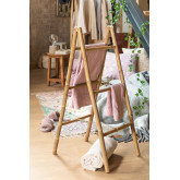 Bamboo Towel holder Ladder Leskay, thumbnail image 1