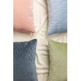 Square Velvet Cushion (40x40 cm) Sine, thumbnail image 5