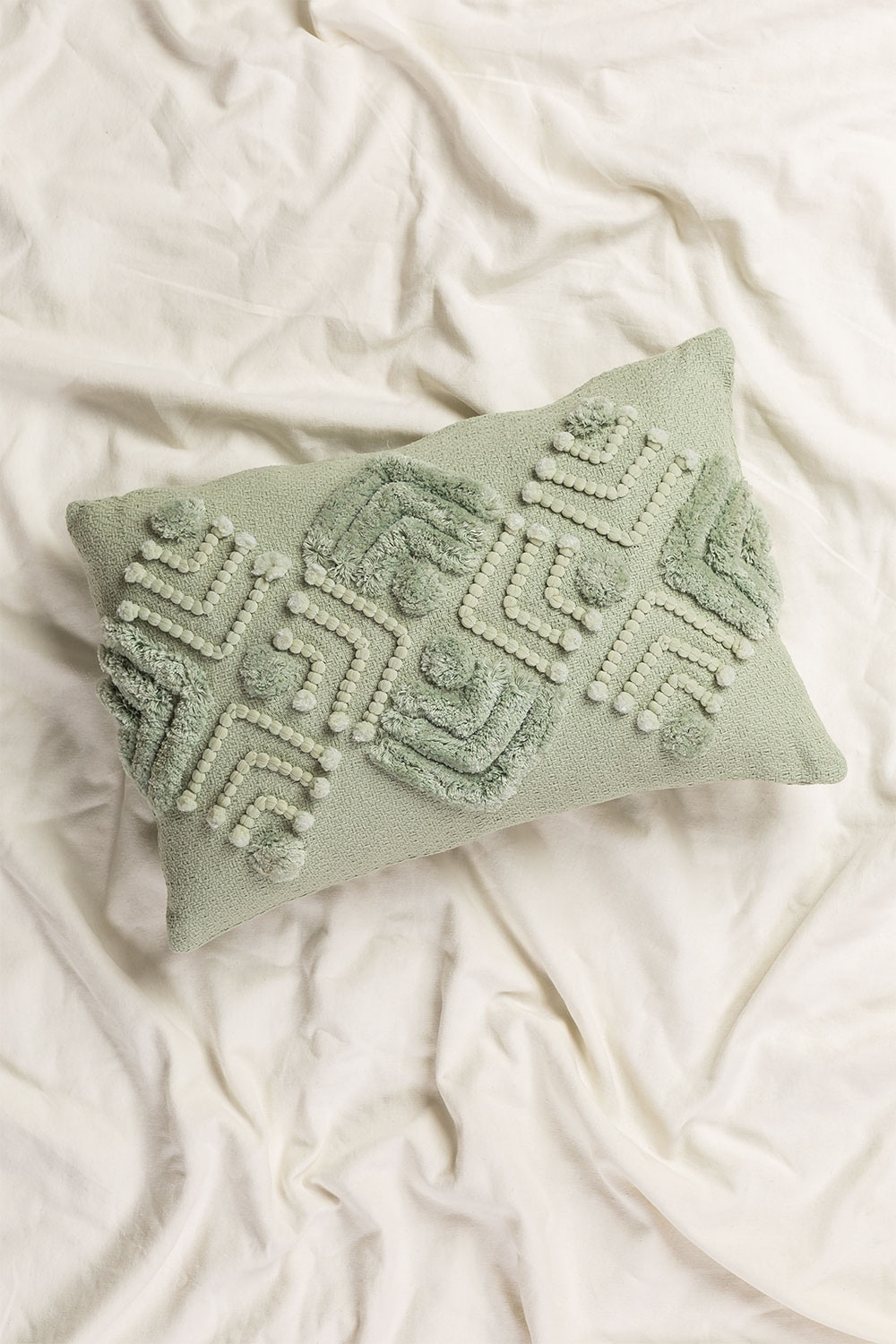 Cushion with Cotton Embroidery (30x45 cm) Efra, gallery image 1