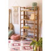 Shelf 4 Shelves in Bamboo Iciar, thumbnail image 1