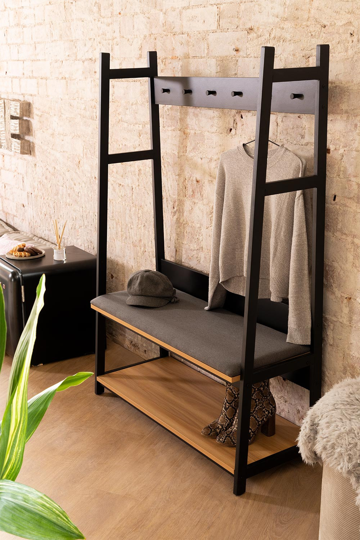 Coat Hanger-Bench  Unit Füst , gallery image 1