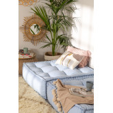 Cotton Embroidery Cushion (45x45 cm) Aspen, thumbnail image 4