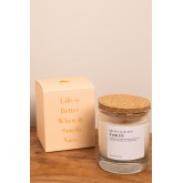 Aromatic Candle (200 gr) Words Collection, thumbnail image 4